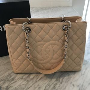 Authentic Chanel beige GST